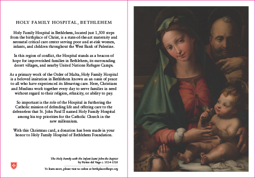 Its That Time Of Year Again When The Holy Family Hospital Foundation Offers Its Christmas Cards What Better Way To Spread The Joy Of Jesus Birth Than To