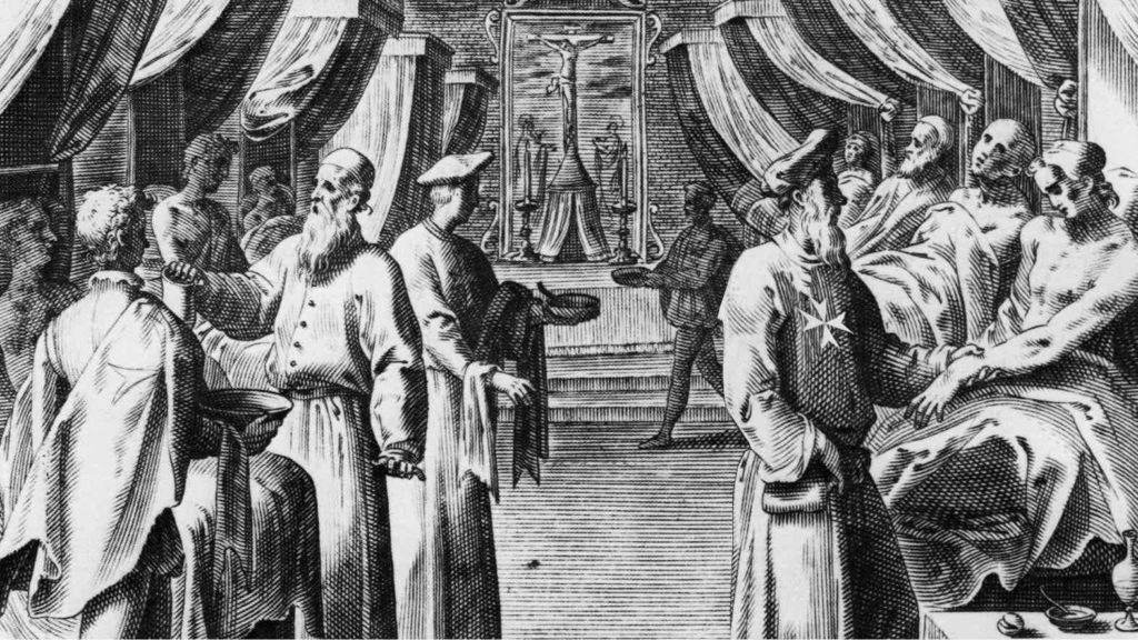 The Beginning of the Order of Malta