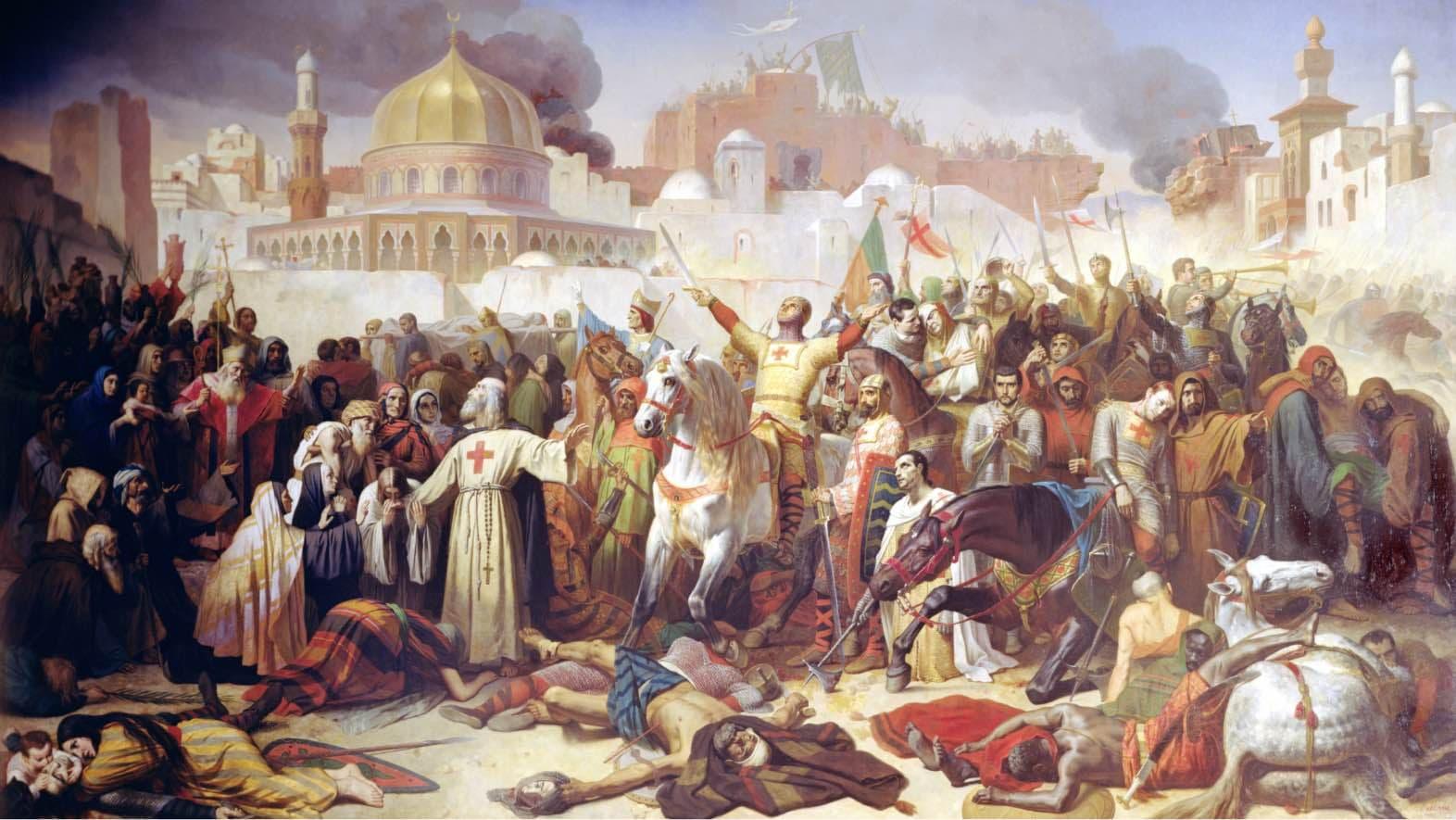 Conquest of Jerusalem 1099 AD