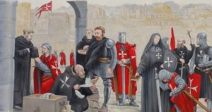 Origins of the Order of Malta: The Templars and Hospitallers Militarization
