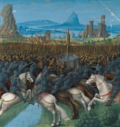 Battle of Hattin in 1187